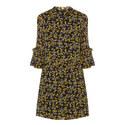 Marceau Georgette Mini Dress, ${color}