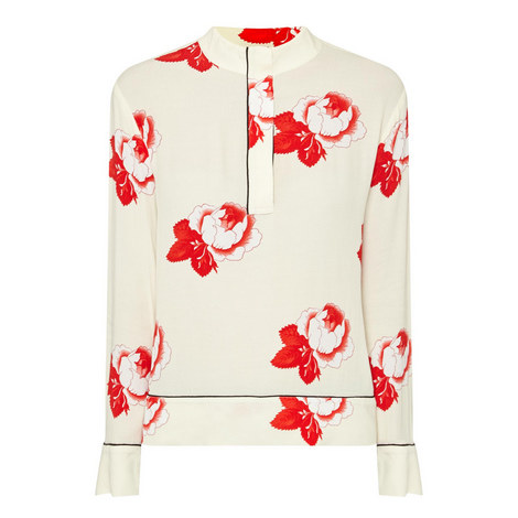 Harley Floral Print Blouse, ${color}