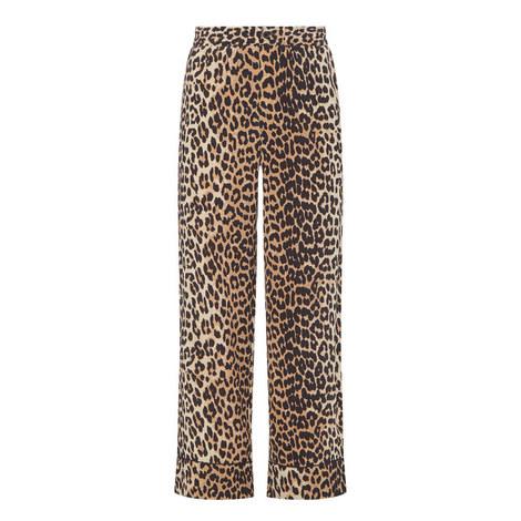 bc208785 Fayette Leopard Print Trousers, ${color}