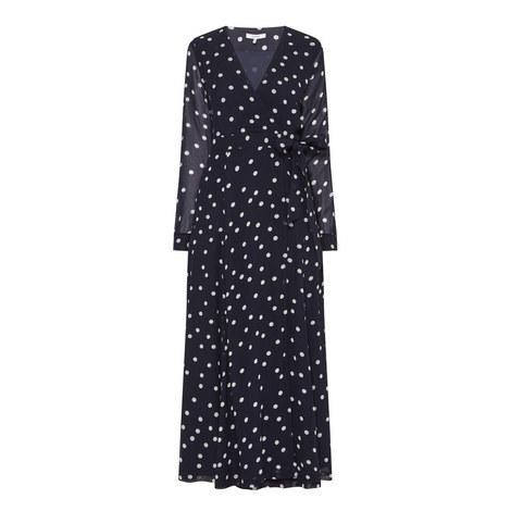 Marceau Georgette Wrap Dress, ${color}