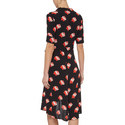 Harley Rose Print Wrap Dress, ${color}