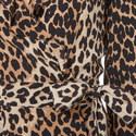 Fayette Leopard Print Wrap Blouse, ${color}