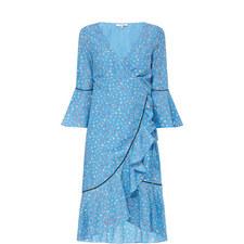 Beacon Wrap Tie Dress