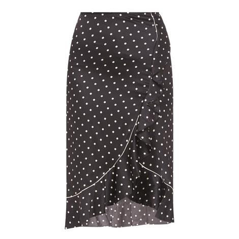 Dufort Silk Skirt , ${color}