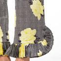 Calla Silk Printed Trousers, ${color}