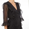Jasmine Flute Sleeve Dress, ${color}