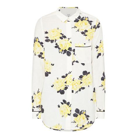 Crêpe Floral Shirt, ${color}