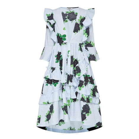Pine Print Dress, ${color}