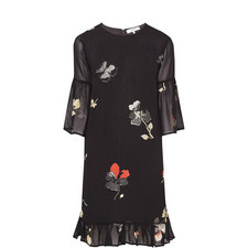 Georgette Floral Print Dress