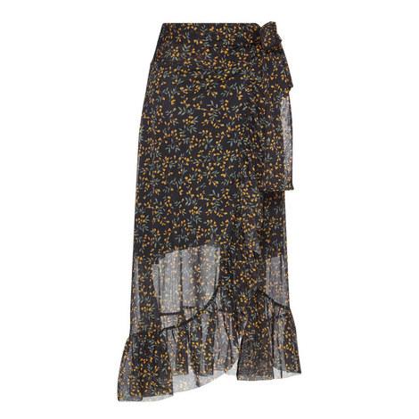 Tilden Mesh Long Skirt, ${color}