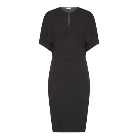 Eyelet Jersey Dress, ${color}