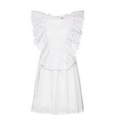 Lace Swing Mini Dress