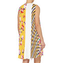Multi-Print Sleeveless Dress , ${color}