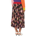 Floral Midi Skirt , ${color}