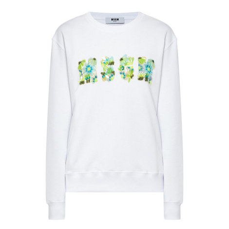 Embellished Logo Sweatshirt, ${color}
