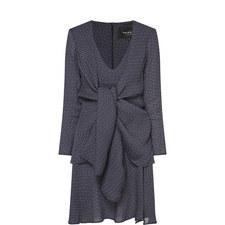 Dot Pattern Mini Dress