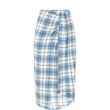 Siven Plaid Skirt