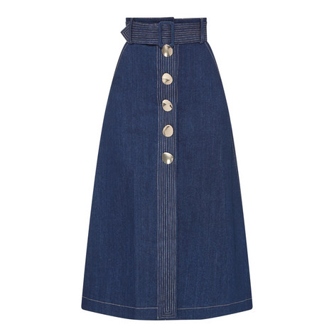 Wallace Denim Skirt, ${color}