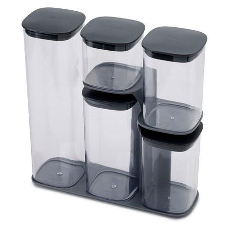 Podium 5 Piece Jar Set, ${color}