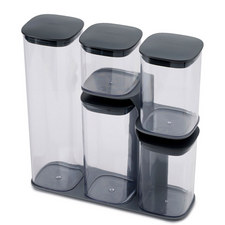 Podium 5 Piece Jar Set