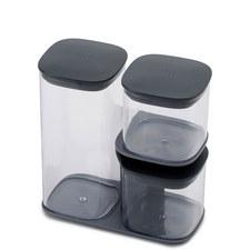 Podium 3 Piece Jar Set