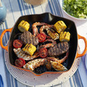 Signature Deep Square Grill Pan 30cm, ${color}