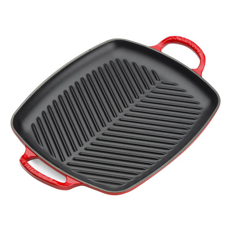 Signature Rectangular Grill Pan 30cm, ${color}