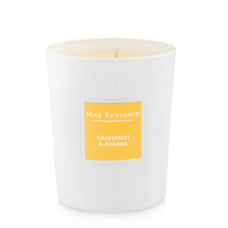 Grapefruit And Pomelo Scented Candle 40 Burning Hours, ${color}