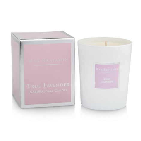 True Lavender Scented Candle 40 Burning Hours, ${color}