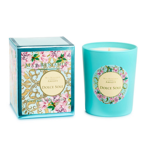 Amalfi Dolce Sole Scented Candle 40 Hours, ${color}