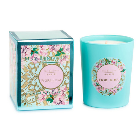 Amalfi Fiori Rosa Scented Candle 40 Hours, ${color}
