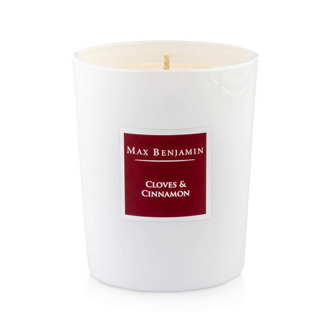 Cloves And Cinnamon Scented Candle 40 Burning Hours, ${color}