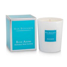 Blue Azure Candle