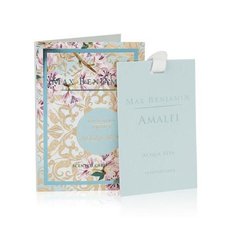 Amalfi Aqua Viva Scented Card, ${color}