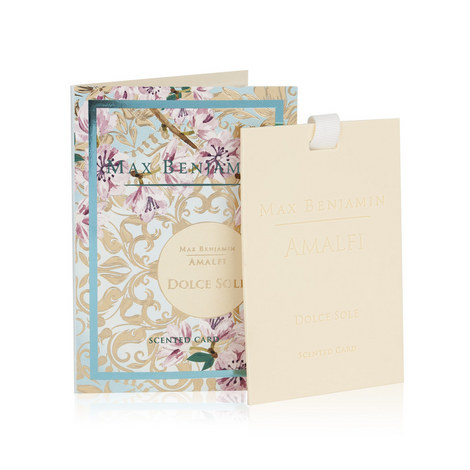 Amalfi Dolce Sole Scented Card, ${color}
