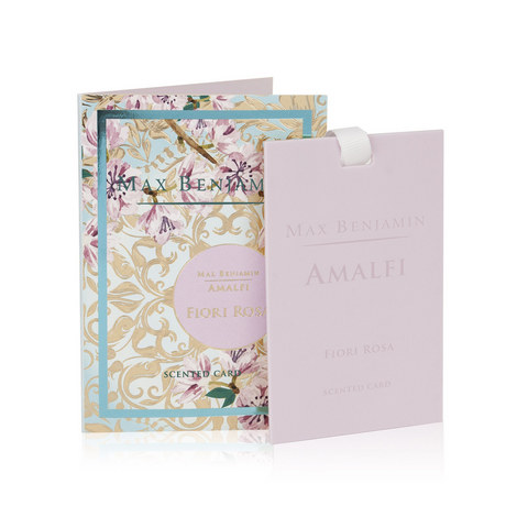 Amalfi Fiori Rosa Scented Card, ${color}