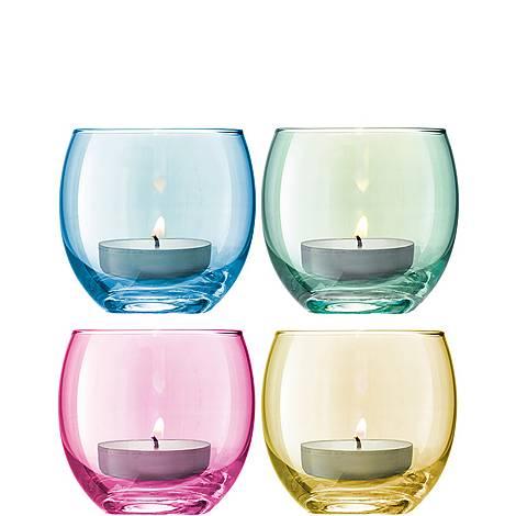 Polka Tealights set of 4, ${color}