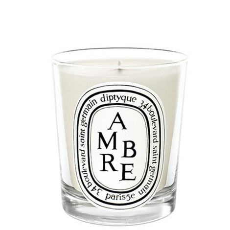 Ambre Scented Candle 190g, ${color}