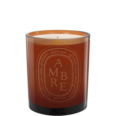 Ambre Coloured Scented Candle 300G, ${color}