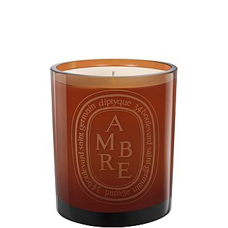 Ambre Coloured Scented Candle 300G