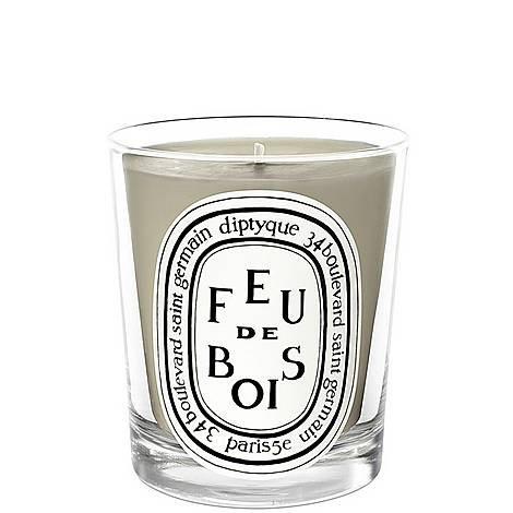 Feu de Bois Scented Candle 190g, ${color}