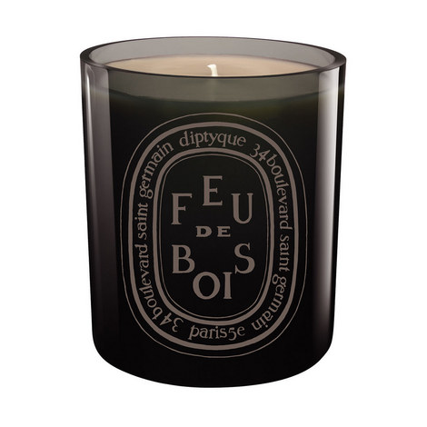 Feu de Bois Coloured Scented Candle 300g, ${color}