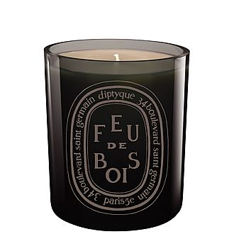 Feu de Bois Coloured Scented Candle 300g