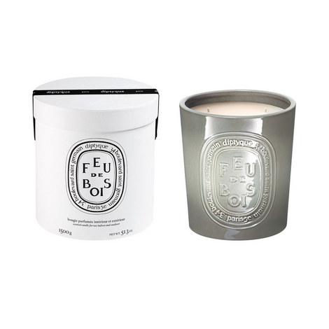 Feu de Bois Indoor/Outdoor Scented Candle 1500g, ${color}