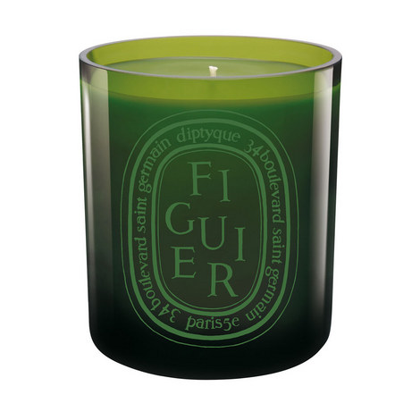 Figuier Coloured Scented Candle 300g, ${color}