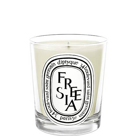Freesia Scented Candle 190g, ${color}