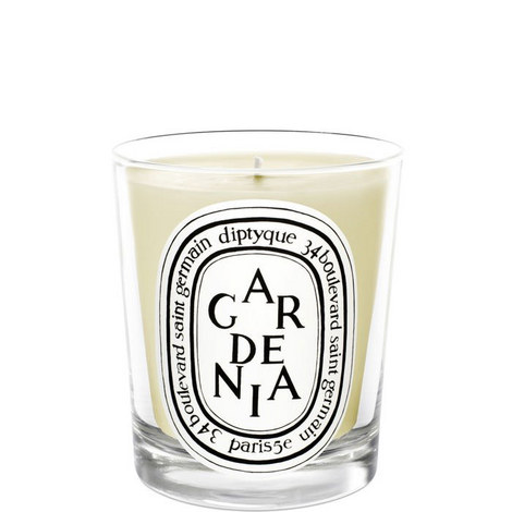 Gardénia Scented Candle 190g, ${color}