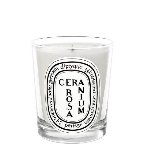 Geranium Rosa Scented Candle 190g, ${color}