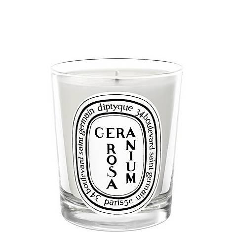 Geranium Rosa Scented Candle 190g, ${color}