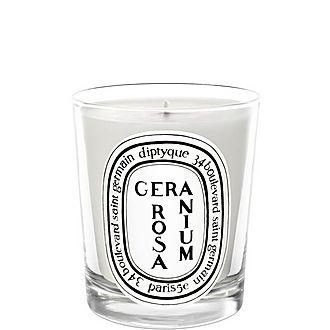 Geranium Rosa Scented Candle 190g